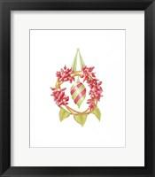 Framed Rose Hip Wreath