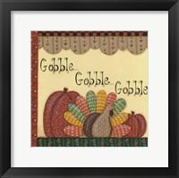 Framed Gobble Gobble Gobble