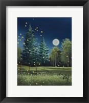 Framed Summer Night