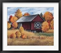 Framed Americana Quilt