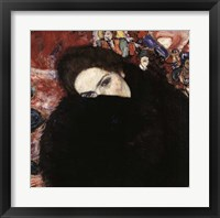 Framed Lady with Muff, 1916-17