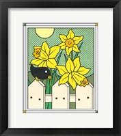 Framed Daffodils With Kernel 4
