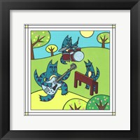 Framed Max Cat Band 1