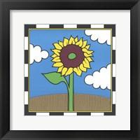 Framed Sunflower 2