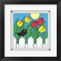 Framed Tulips With Kernel 1