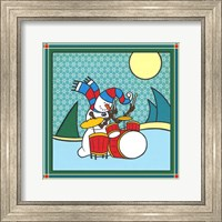 Framed Coalman The Snowman Drums 1