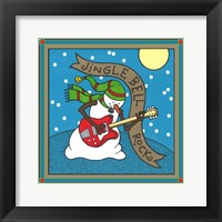 Coalman The Snowman Guitar 1 Framed Print