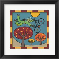 Framed Stitch The Scarecrow Bike 1