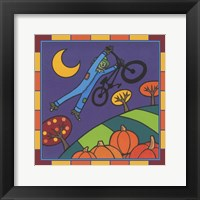 Framed Stitch The Scarecrow Bike 2