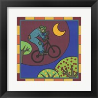 Framed Stitch The Scarecrow Bike 3