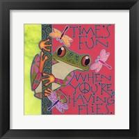 Framed Frog I