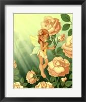 Framed Sweet Rose