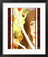 Framed Autumn Branches
