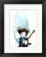 Framed Blue Song