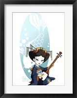 Framed Blue Song