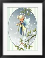 Framed Mistletoe Fairy