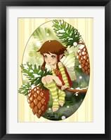 Framed Pine Fairy
