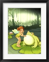 Framed Taunting Toads