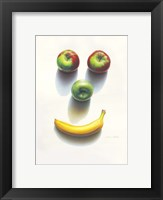 Framed Happy Fruit