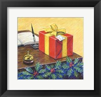 Framed Christmas Package