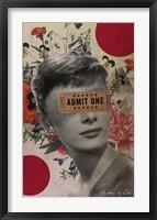 Framed Audrey