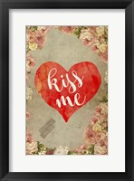 Framed Kiss Me