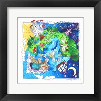 Framed Fantasy World