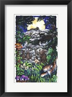 Framed Jungle Book