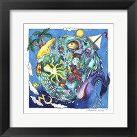 Framed Underwater World