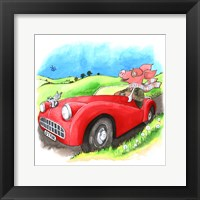 Framed Road Hog