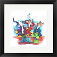 Framed Three Mouseketeers