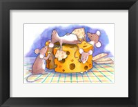 Framed Christmouse Crackers