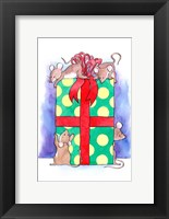 Framed Christmouse Present