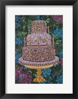 Framed Birthday Cake