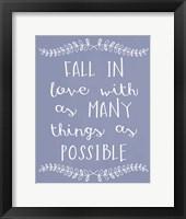 Framed Fall In Love