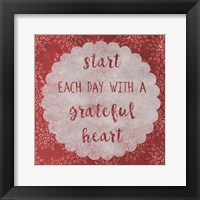 Framed Grateful