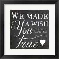Framed Wish
