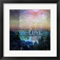 Framed Spiritual Love