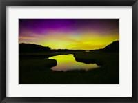 Framed Aurora Sky