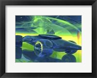 Framed Megafuture Globa Spear XXVIII