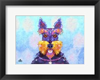 Framed Scottie Dog L