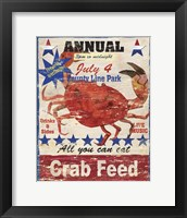 Framed Crab Feed