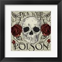 Framed Pick Your Poison