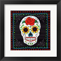 Framed Sugar Skull I