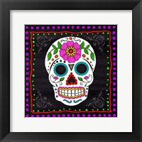 Framed Sugar Skull II