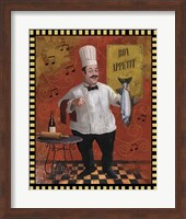 Framed Chef Fish Master Design