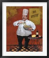 Framed Chef Pasta Master