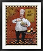 Framed Chef Pasta Master Design
