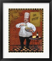Framed Chef Pasta Master Design
