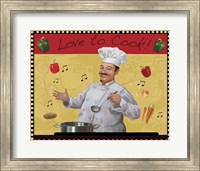 Framed Love to Cook Master